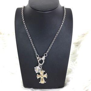 Cross necklace ** NWOT